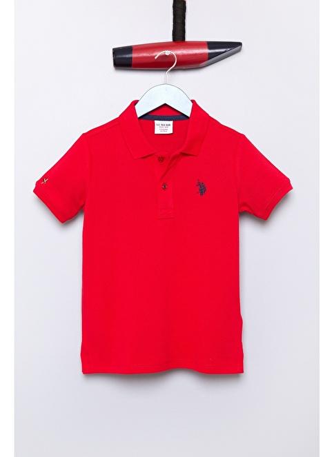 5d71c6b4fc81a U.S. Polo Assn. Erkek Çocuk Tişört Kırmızı   Morhipo   18677907